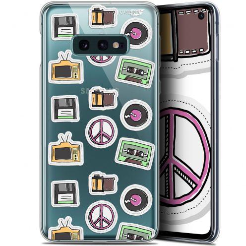 "Coque Gel Samsung Galaxy S10e (5.8"") Extra Fine Motif - Vintage Stickers"