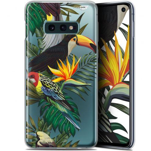 """Coque Gel Samsung Galaxy S10e (5.8"""") Extra Fine Motif - Toucan Tropical"""