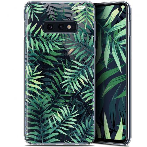 """Coque Gel Samsung Galaxy S10e (5.8"""") Extra Fine Motif - Feuilles des Tropiques"""