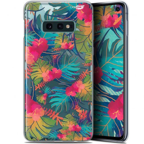 "Coque Gel Samsung Galaxy S10e (5.8"") Extra Fine Motif -  Couleurs des Tropiques"