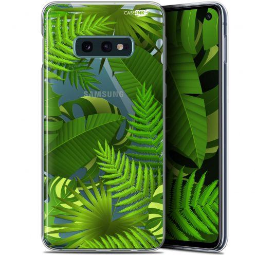 "Coque Gel Samsung Galaxy S10e (5.8"") Extra Fine Motif - Plantes des Tropiques"
