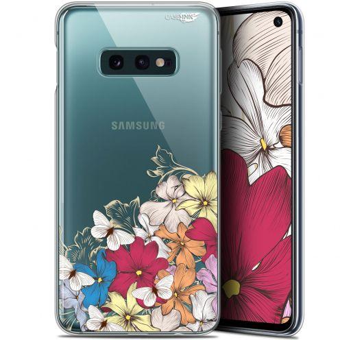 """Coque Gel Samsung Galaxy S10e (5.8"""") Extra Fine Motif -  Nuage Floral"""
