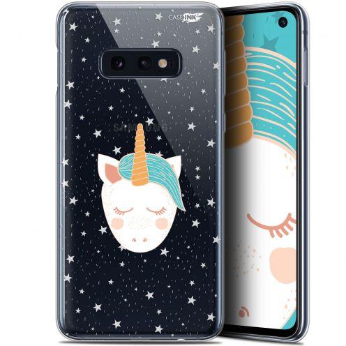 """Coque Gel Samsung Galaxy S10e (5.8"""") Extra Fine Motif -  Licorne Dors"""