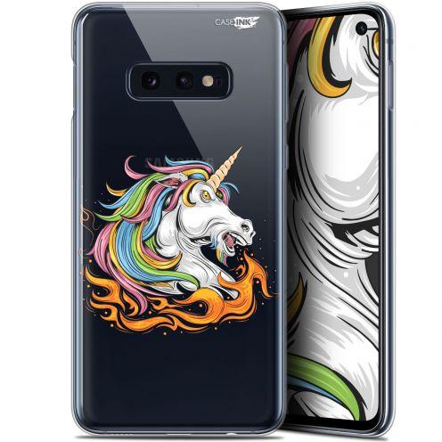 """Coque Gel Samsung Galaxy S10e (5.8"""") Extra Fine Motif -  Licorne de Feu"""