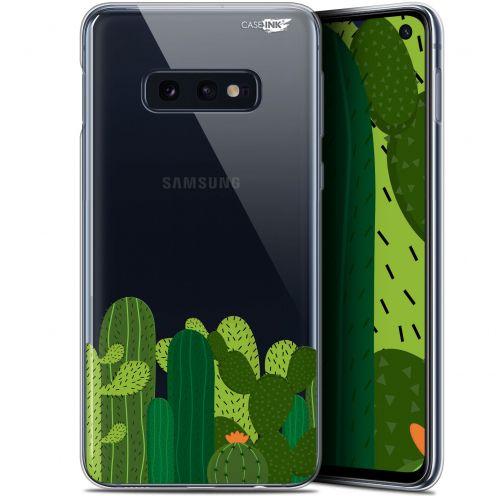 """Coque Gel Samsung Galaxy S10e (5.8"""") Extra Fine Motif - Cactus"""