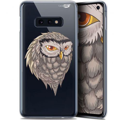 """Coque Gel Samsung Galaxy S10e (5.8"""") Extra Fine Motif -  Hibou Draw"""