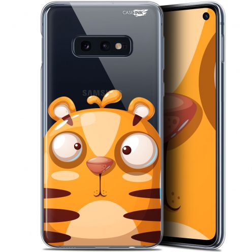 "Coque Gel Samsung Galaxy S10e (5.8"") Extra Fine Motif - Cartoon Tiger"