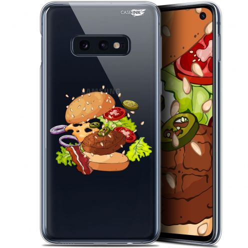 "Coque Gel Samsung Galaxy S10e (5.8"") Extra Fine Motif - Splash Burger"