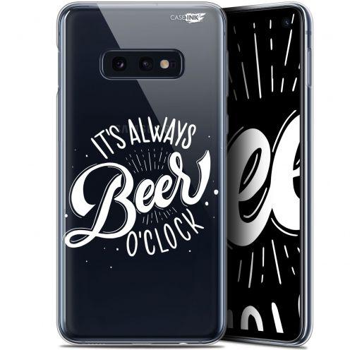 "Coque Gel Samsung Galaxy S10e (5.8"") Extra Fine Motif - Its Beer O'Clock"