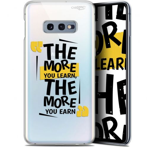"Coque Gel Samsung Galaxy S10e (5.8"") Extra Fine Motif - The More You Learn"