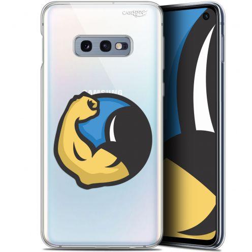 "Coque Gel Samsung Galaxy S10e (5.8"") Extra Fine Motif -  Monsieur Muscle"
