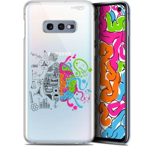 """Coque Gel Samsung Galaxy S10e (5.8"""") Extra Fine Motif - Le Cerveau"""