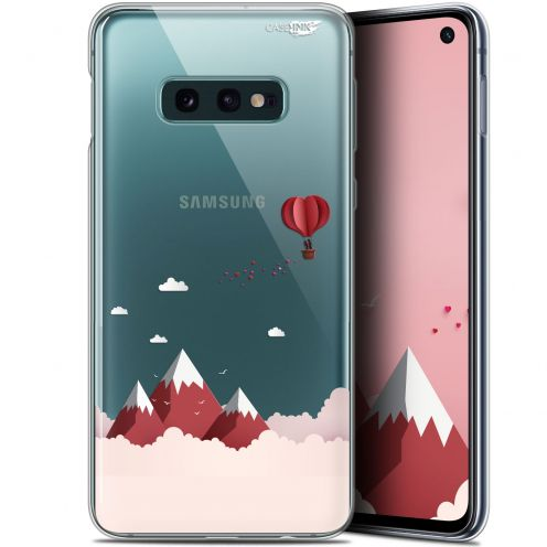 "Coque Gel Samsung Galaxy S10e (5.8"") Extra Fine Motif - Montagne En Montgolfière"