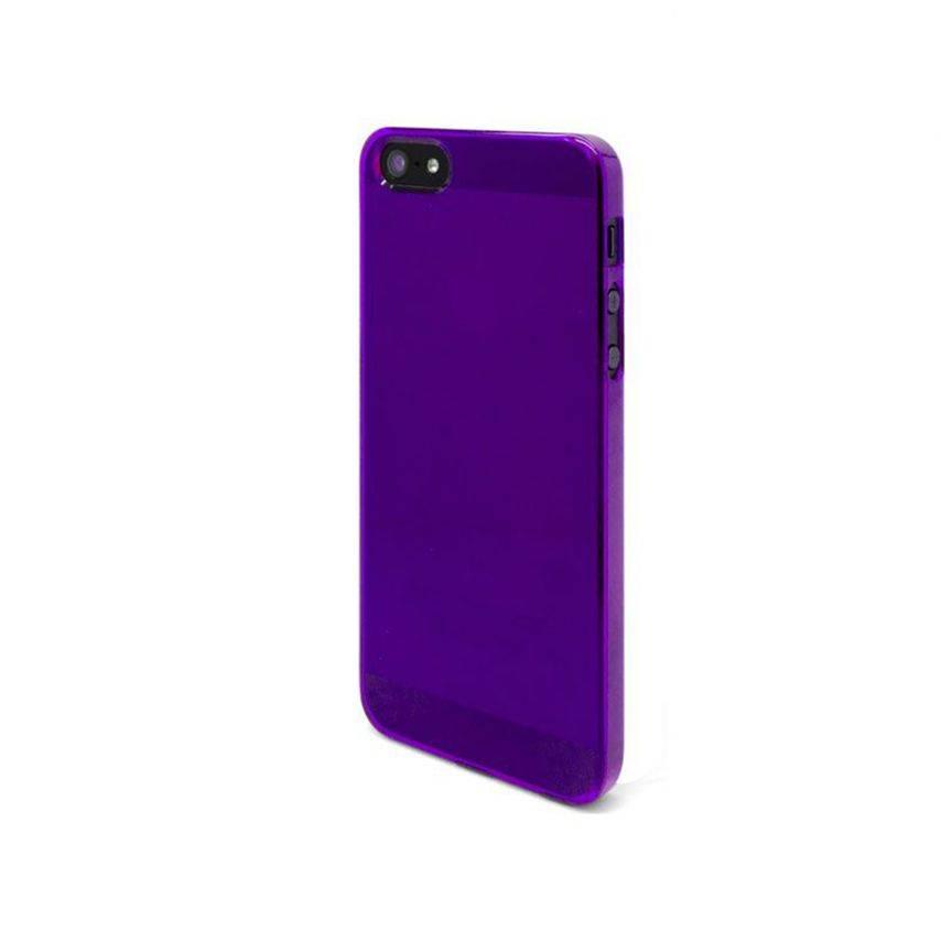 Visuel supplémentaire de Coque Crystal iPhone 5 Violet