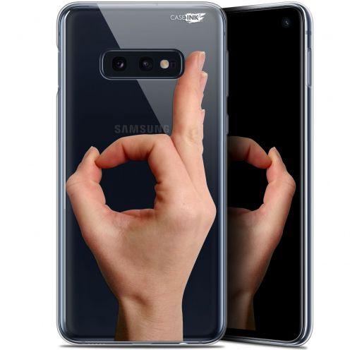 "Coque Gel Samsung Galaxy S10e (5.8"") Extra Fine Motif - Le Jeu du Rond"