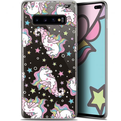 """Coque Gel Samsung Galaxy S10+ (6.4"""") Extra Fine Motif -  Licorne Dormante"""