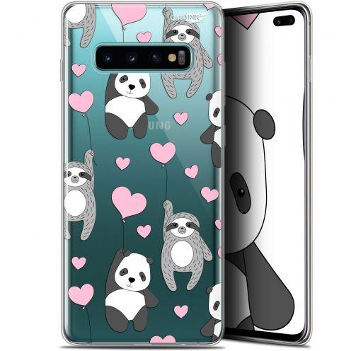 "Coque Gel Samsung Galaxy S10+ (6.4"") Extra Fine Motif -  Panda'mour"