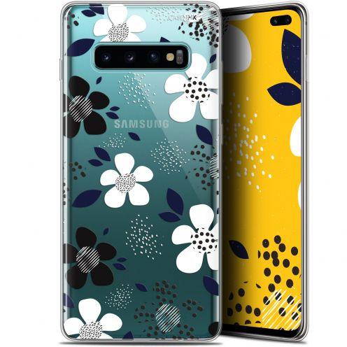 """Coque Gel Samsung Galaxy S10+ (6.4"""") Extra Fine Motif -  Marimeko Style"""