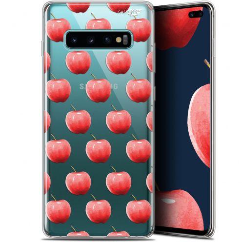 "Coque Gel Samsung Galaxy S10+ (6.4"") Extra Fine Motif -  Cerises"