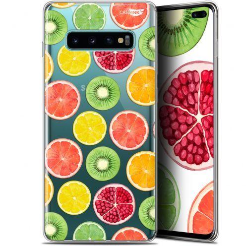 """Coque Gel Samsung Galaxy S10+ (6.4"""") Extra Fine Motif -  Fruity Fresh"""