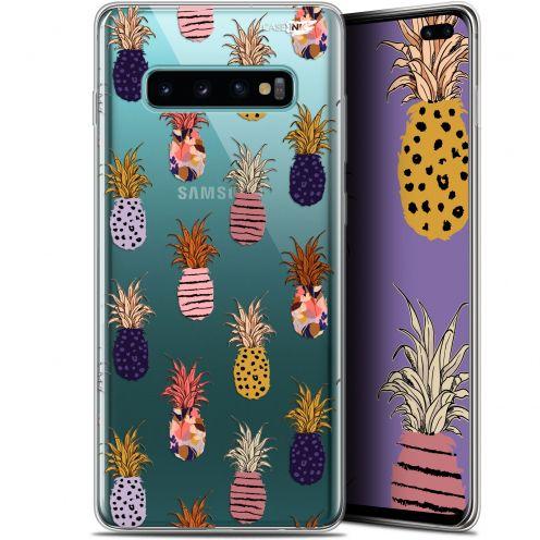 "Coque Gel Samsung Galaxy S10+ (6.4"") Extra Fine Motif -  Ananas Gold"