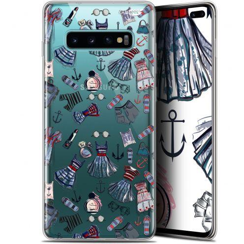 """Coque Gel Samsung Galaxy S10+ (6.4"""") Extra Fine Motif -  Fashionista"""