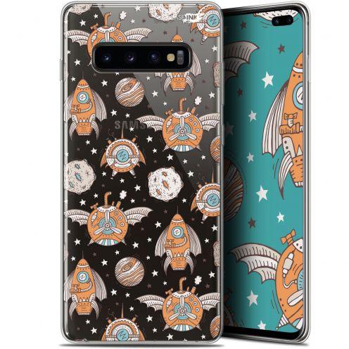 "Coque Gel Samsung Galaxy S10+ (6.4"") Extra Fine Motif -  Punk Space"
