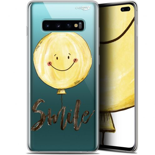 """Coque Gel Samsung Galaxy S10+ (6.4"""") Extra Fine Motif -  Smile Baloon"""