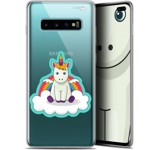 "Coque Gel Samsung Galaxy S10+ (6.4"") Extra Fine Motif -  Bébé Licorne"