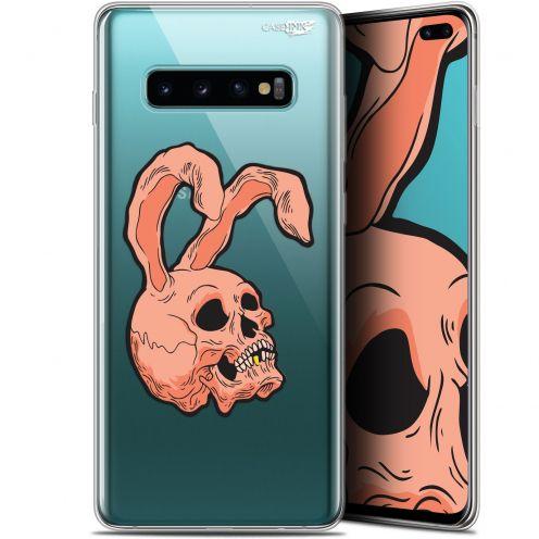 "Coque Gel Samsung Galaxy S10+ (6.4"") Extra Fine Motif -  Rabbit Skull"