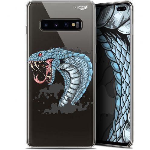"Coque Gel Samsung Galaxy S10+ (6.4"") Extra Fine Motif -  Cobra Draw"
