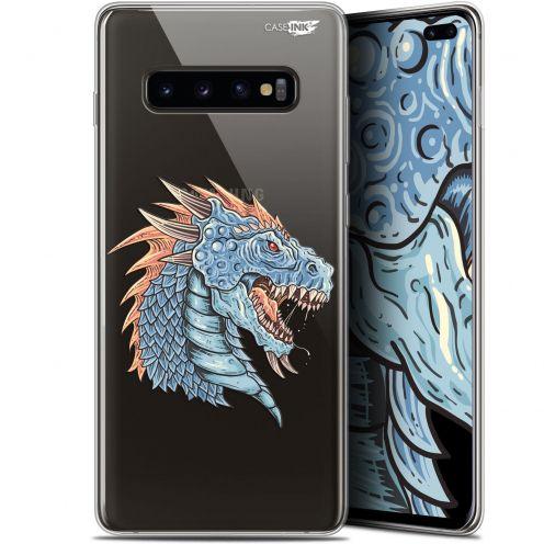 """Coque Gel Samsung Galaxy S10+ (6.4"""") Extra Fine Motif -  Dragon Draw"""