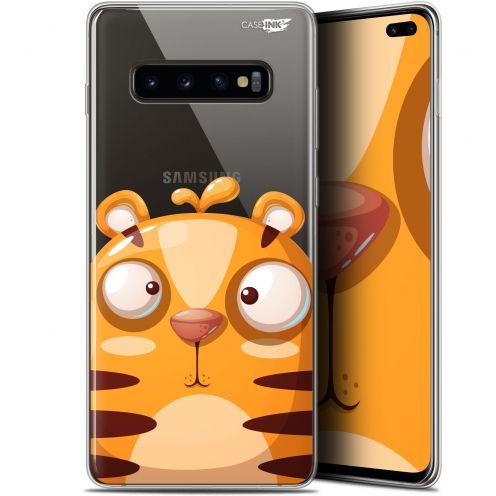 """Coque Gel Samsung Galaxy S10+ (6.4"""") Extra Fine Motif -  Cartoon Tiger"""