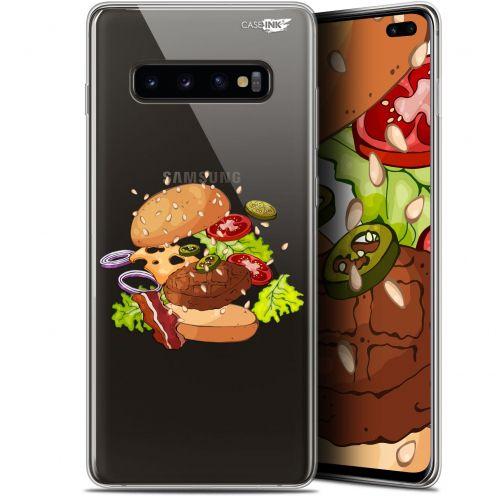 "Coque Gel Samsung Galaxy S10+ (6.4"") Extra Fine Motif -  Splash Burger"