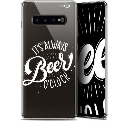 """Coque Gel Samsung Galaxy S10+ (6.4"""") Extra Fine Motif -  Its Beer O'Clock"""