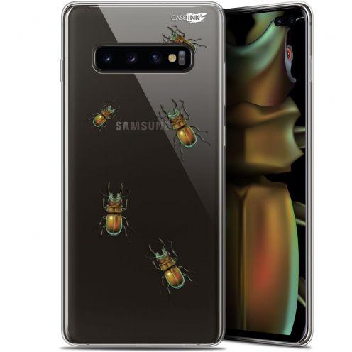 "Coque Gel Samsung Galaxy S10+ (6.4"") Extra Fine Motif -  Petits Scarabés"