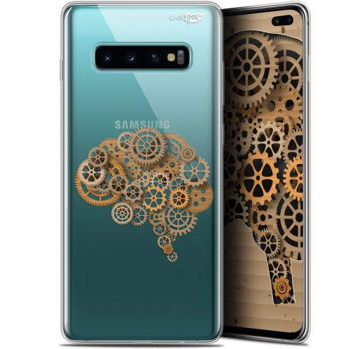"Coque Gel Samsung Galaxy S10+ (6.4"") Extra Fine Motif - Mécanismes du Cerveau"
