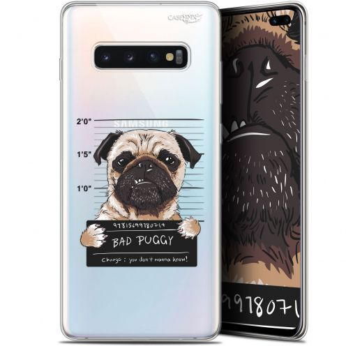 "Coque Gel Samsung Galaxy S10+ (6.4"") Extra Fine Motif -  Beware The Puggy Dog"