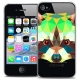 Coque Crystal iPhone 4/4S Extra Fine Polygon Animals - Raton Laveur