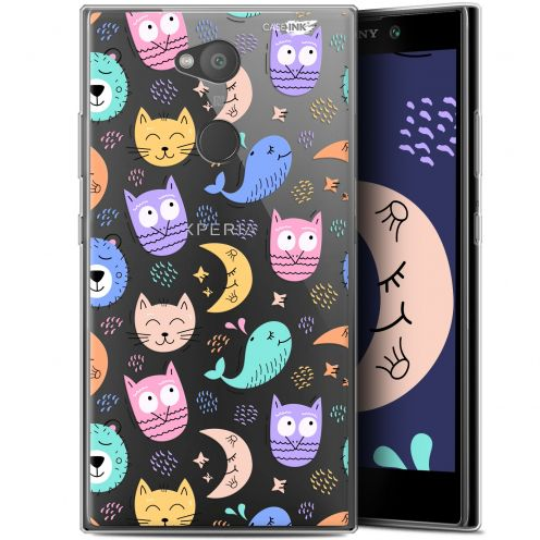 "Coque Gel Sony Xperia L2 (5.5"") Extra Fine Motif - Chat Hibou"