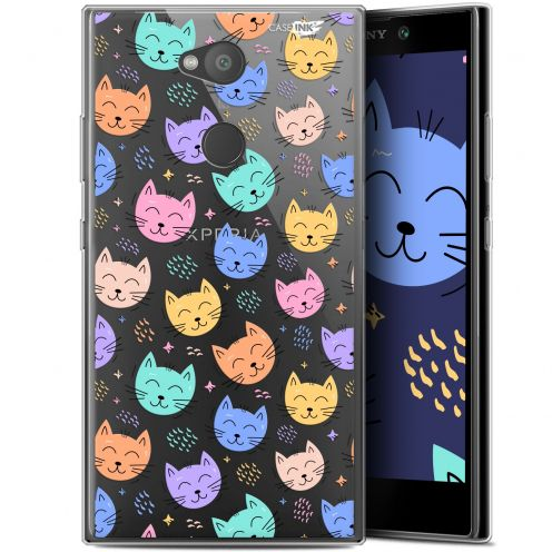 "Coque Gel Sony Xperia L2 (5.5"") Extra Fine Motif -  Chat Dormant"