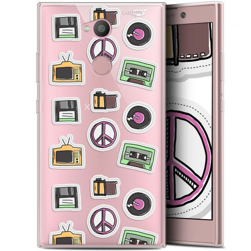 "Coque Gel Sony Xperia L2 (5.5"") Extra Fine Motif - Vintage Stickers"