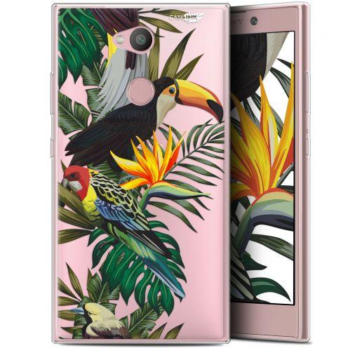 "Coque Gel Sony Xperia L2 (5.5"") Extra Fine Motif -  Toucan Tropical"