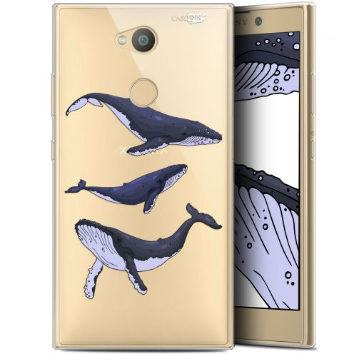 "Coque Gel Sony Xperia L2 (5.5"") Extra Fine Motif - Les 3 Baleines"