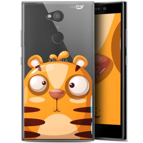 "Coque Gel Sony Xperia L2 (5.5"") Extra Fine Motif -  Cartoon Tiger"
