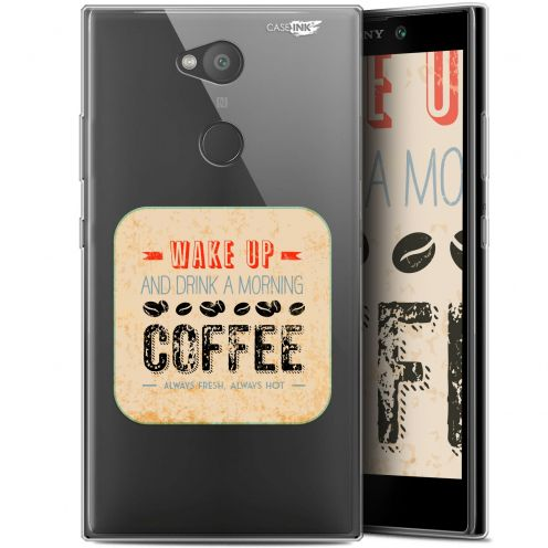 "Coque Gel Sony Xperia L2 (5.5"") Extra Fine Motif -  Wake Up With Coffee"
