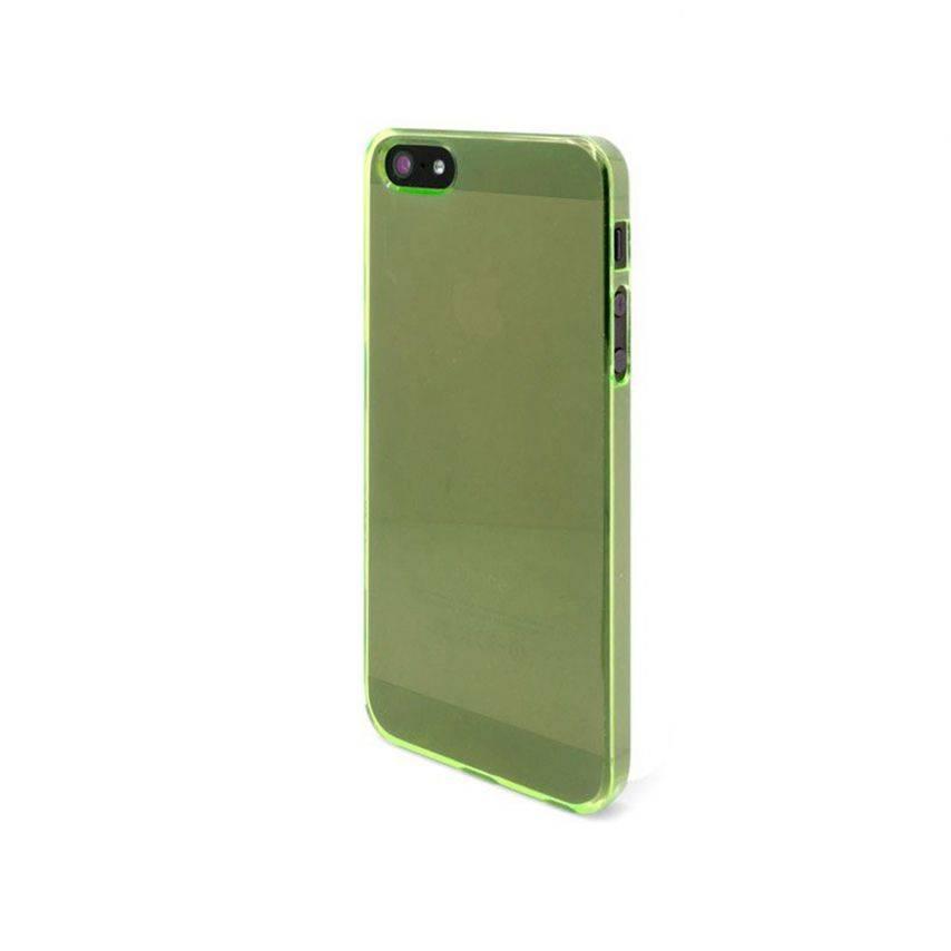 Visuel supplémentaire de Coque Crystal iPhone 5 Vert