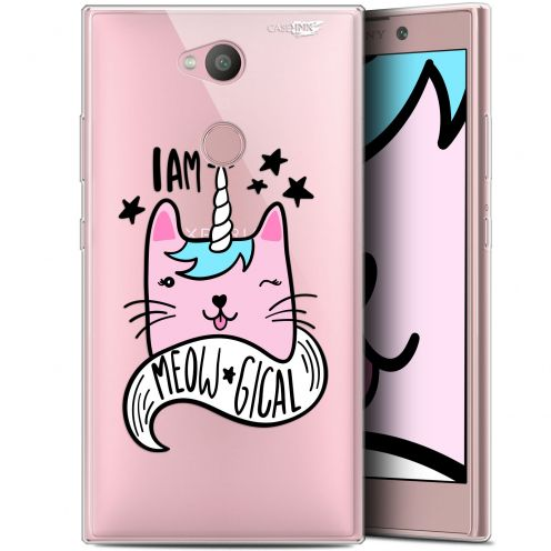 "Coque Gel Sony Xperia L2 (5.5"") Extra Fine Motif -  I Am MEOUgical"