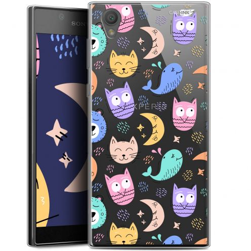 """Coque Gel Sony Xperia L1 (5.5"""") Extra Fine Motif - Chat Hibou"""