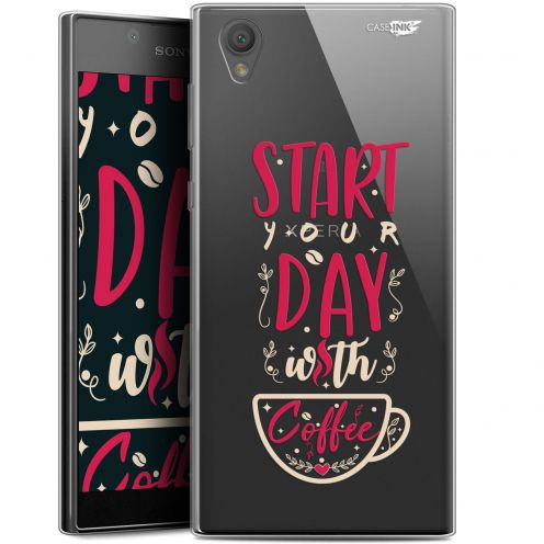 "Coque Gel Sony Xperia L1 (5.5"") Extra Fine Motif - Start With Coffee"